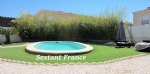 Villa 3 Faces 88 M². In Ground Flor. 3 Bedrooms. Swimming Pool. Garage.