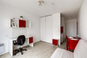 Real estate investment in student residence with a yearly rent of 4 143.84