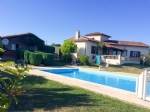 Modern house, gite, pool, stunning views, tower, double garage, good standards, spa, immaculate