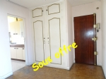 3 rooms apartment with large balcony and parking place