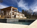 125m² house on 6500m² of field with swimming-pool