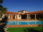 6 rooms villa with swimming-pool and garage