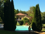 Infinity pool, massive 250m² house, 2 amenities, gite, fishing lake, 5 acres of land, character