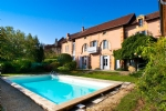 Beautiful house with pool and outstanding views in Belvès