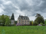 19th century castle with 8 acre garden