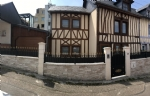 Beautiful city half-timbered house of 105m²