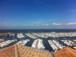 Arcachon : 2 room apartment with dominant view on the bay and the port