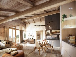 New build 1 bedroom ski flat in Les Houches (74310) Chamonix Valley