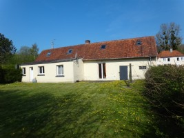 Farmhouse 4 bedrooms near Hesdin and Crecy in the Authie valley