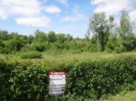 Superb building plot of 2945m2 (3/4 acre approx..) near Hesdin