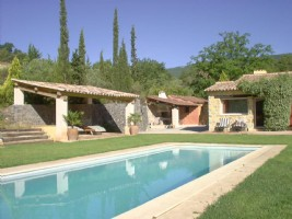 Wmn1987622, Charming Villa With Guest House - Fayence