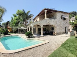 Wmn2321008, Beautiful Villa With A Large Terrace And Swimming Pool - Villeneuve-Loubet