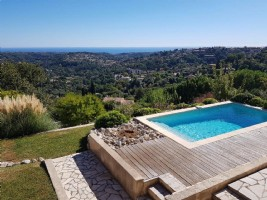 Wmn2531715, Modern Villa With Pool And Panoramic Views- Vence
