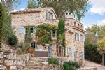 Wmn2851301, Authentic Stone House With Full Sea View - Roquefort Les Pins