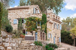 Wmn2851301, Authentic Stone House With Sea View - Roquefort Les Pins