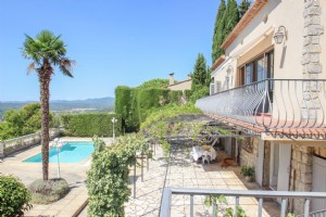 Wmn542943, Exceptional Elegant Villa With Panoramic Views in Village - Montauroux