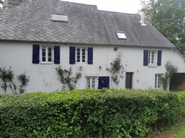 Nice house in countryside with grounds of an acre in peaceful setting