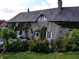 Detached farmhouse with extensive outbuildings set in grounds of around 23 acres