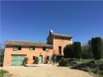 Traditional Stone Mas not overlooked and with fabulous views of the Luberon and vineyards