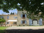 Authentic provencal stone mas.with various outbuildings, pool, stables and 23 hectares