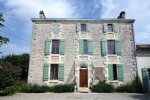 Charente stone country retreat easily managed and ready to go