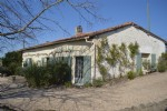 Stone country property with stunning views south Charente