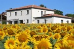 Family home with pool next to golf course near Aubeterre, South Charente