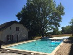 Modernised detached property, with pool and tennis court. Dordogne