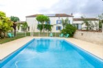 South facing 7-bedroom stone farmhouse plus gîte and pool. Charente
