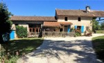Restored character 4 bed stone village house in Charente with studio