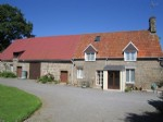 Renovated 4 bed farmhouse with separate gite, outbuildings and land of over 13 acres
