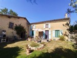 house with gite, 3 bedrooms, garden with river frontage, Dampierre