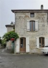 Pretty village house with large barn and courtyard. Dordogne.