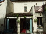 Near Chalais Village house with small garden. South Charente.