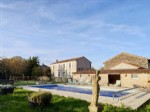 House 5 bedrooms, pool, garden, garage, Chef Boutonne