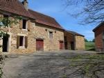 Pretty Perigourdine Farm to Restore- 3 Bedroom House, Barn, Outbuildings & 2ha of land
