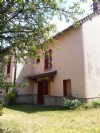 Village house attached on one side with barn and attached garden of approximately 1000m²