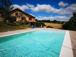 Renovated farmhouse with superb views, pool and gite potential