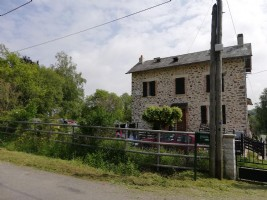 Stone house with attached gite
