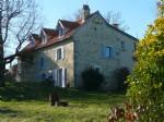 Character stone house- Villeneuve d'Aveyron