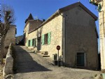 In the centre of a pretty village situated between Miradoux and St Clar