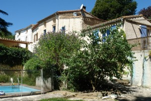 Village Property plus Gite, Pool, Garden, View!