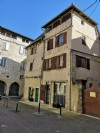 Historical centre of Figeac: very old renovated house ...
