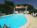 Lovely stone built house with pool and Pyrenees view