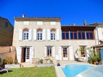 Cute village character house southern exposure, garden and pool TOULOUSE 40 mn