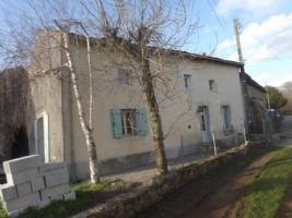 Abzac - Farmhouse with barns and land