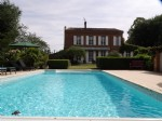 Superb character house with beautiful landscaped garden and swimming pool