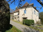 Near Figeac, quercynoise stone house renovated