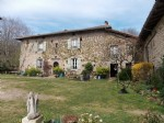 Historical manor house with barn set in beautiful grounds in a peaceful location.