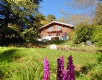 CHALET edge of lively village, nice views, constructible land,natural environ, natural environment